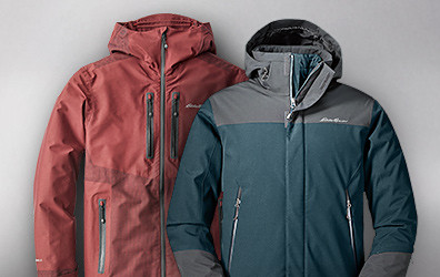 BC DuraWeave Freshline Jacket and Powder Search 3-In-1 Down Jacket