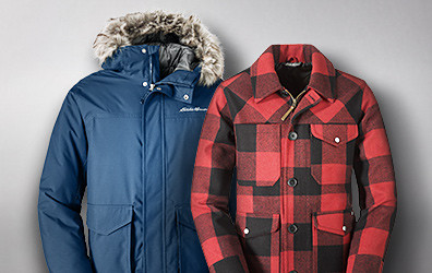 Superior Down Parka and Bulman Creek Forester
