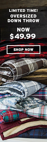 Shop Down Throws
