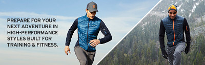 Prepare for your next adventure in high-performance styles built for training & fitness.