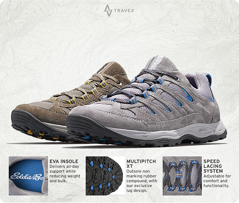 Different colors and features of the Seneca Peak Hikers