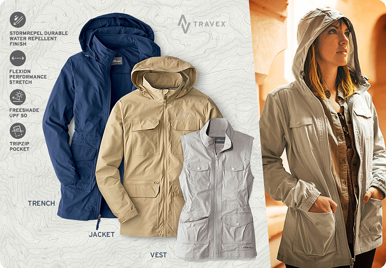 Different colors and styles of Atlas Jackets and Vests