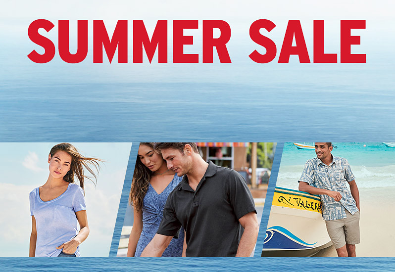 Different Men's and Women's Summer Sale styles