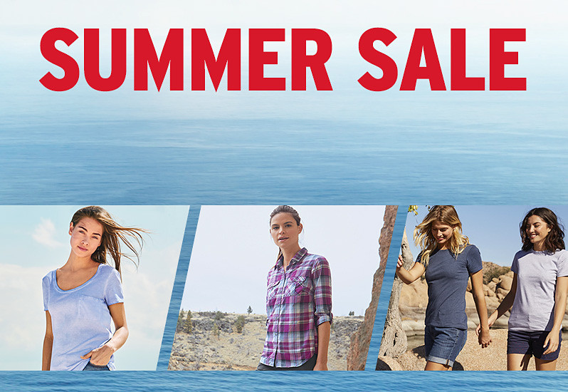 Different summer sale styles