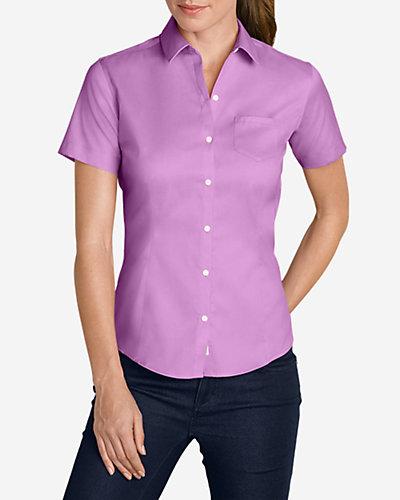 photo: Eddie Bauer Short-Sleeve Wrinkle-Resistant Shirt hiking shirt