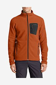 Orange Jackets: Men's Cloud Layer® Pro Full-Zip Fleece Jacket