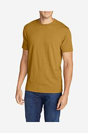 Brown T-Shirts: Men's Legend Wash Short-Sleeve T-Shirt - Classic Fit
