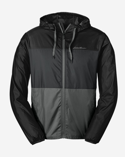 Eddie Bauer Men's Momentum Light Jacket (Black / Med Indigo)