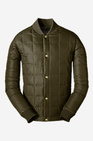 Water Resistant Jackets: Men's 1957 Down Super Sweater Jacket