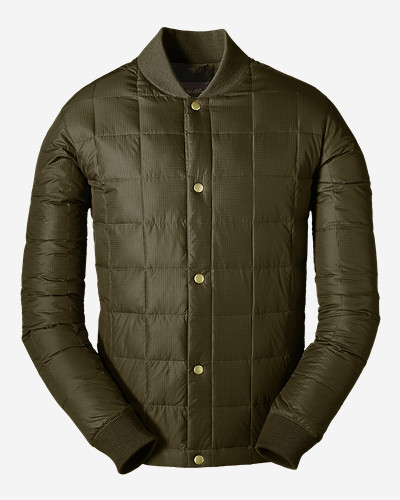 Mens Parkas: Men's 1957 Down Super Sweater Jacket