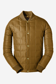 Brown Jackets for Men: Men's 1957 Down Super Sweater Jacket