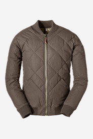 Brown Jackets for Men: Men's 1936 Skyliner Model Down Jacket