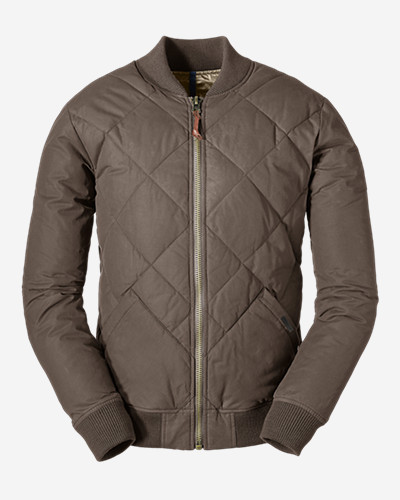 Eddie bauer down jacket losing feathers