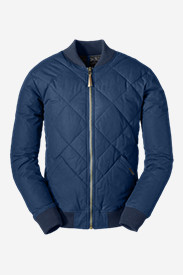 Quilted Jackets for Men: Men's 1936 Skyliner Model Down Jacket