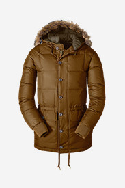 Polyester Parkas for Men: Men's Kara Koram Down Parka