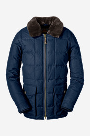 Blue Parkas: Men's Yukon Classic Down Parka