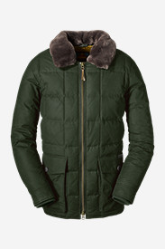Green Jackets for Men: Men's Yukon Classic Down Parka