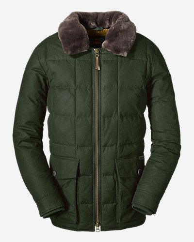 Water Resistant Jackets for Men: Men's Yukon Classic Down Parka