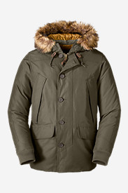 Water Resistant Jackets for Men: Men's B-9 Down Parka