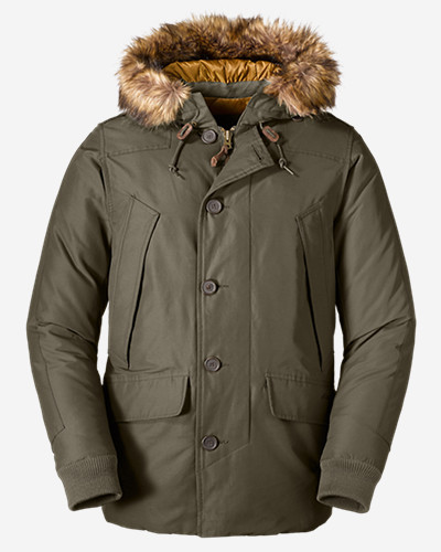 Mens Parkas: Men's B-9 Down Parka