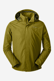 Green Jackets for Men: Men's Rainfoil Packable Jacket