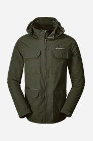 Green Jackets for Men: Men's Atlas Hooded Jacket