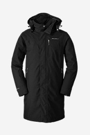 Water Resistant Jackets: Men's Mainstay Insulated Trench Jacket