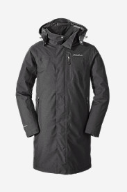 Jackets for Men: Men's Mainstay Insulated Trench Coat