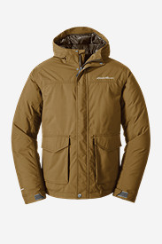 Brown Jackets for Men: Men's Superior Down Jacket
