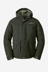 Green Jackets for Men: Men's Superior Down Jacket
