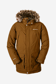 Brown Jackets for Men: Men's Superior Down Parka