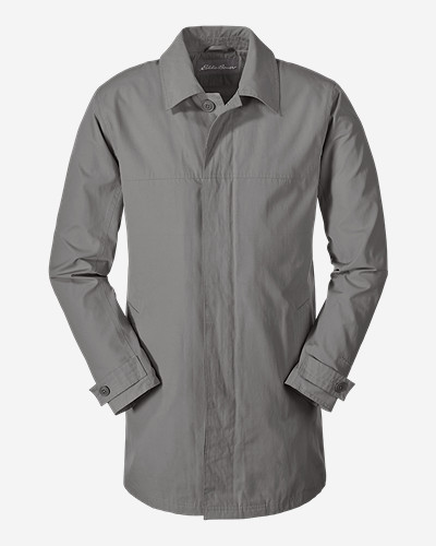 Water Resistant Jackets for Men: Men's Eddie MicroTherm® Trench Coat