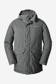 Gray Parkas for Men: Men's Superior VersaDown Parka