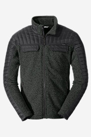 Gray Sweaters & Sweatshirts for Men: Men's MicroTherm® Hybrid Sweater