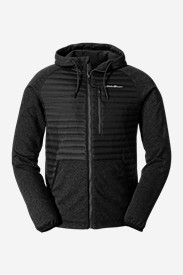 Black Shirts for Men: Men's MicroTherm Sweatshirt Hoodie