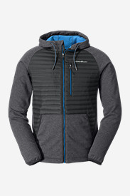 Hooded Shirts for Men: Men's MicroTherm Sweatshirt Hoodie