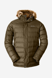 Faux Fur Jackets for Men: Men's Boundary Pass Parka