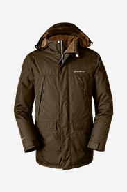 Water Resistant Jackets for Men: Men's Rainfoil Insulated Parka