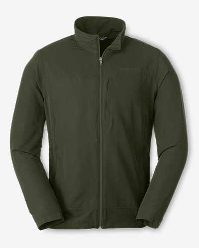 Water Resistant Jackets for Men: Men's Odysseus Soft Shell Jacket