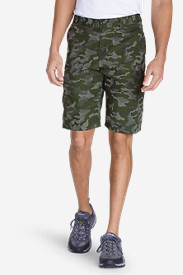 Cotton Shorts for Men: Men's Versatrex® 11' Cargo Shorts - Print