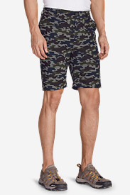 Blue Shorts for Men: Men's Amphib Cargo Shorts - Pattern