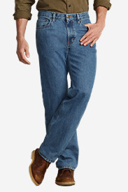 Men's Classic Fit Five-Pocket Jeans