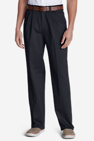 Wrinkle-Free Relaxed Fit Comfort Waist Causal Performance Chino Pants
