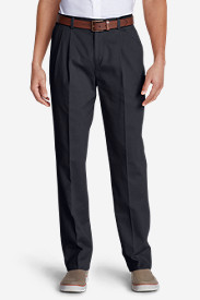 Big & Tall Dress Pants for Men: Men's Wrinkle-Free Classic Fit Pleated Casual Performance Chino Pants