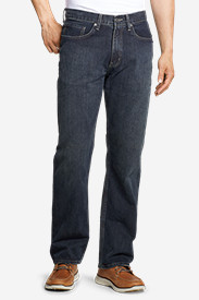 Blue Jeans for Men: Men's Authentic Jeans - Relaxed Fit