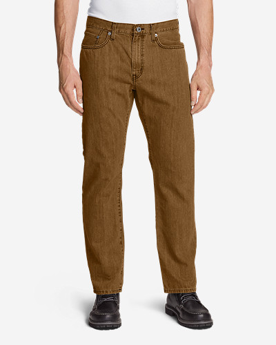 371a590ab Men's Authentic Jeans - Relaxed Fit | Eddie Bauer
