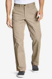 Cotton Pants for Men: Men's Legend Wash Chino Pants - Classic Fit