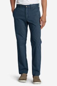 Blue Khaki Pants for Men: Men's Classic Fit Legend Wash Chino Pants