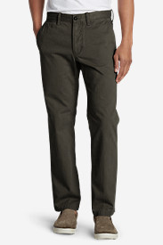 Green Pants for Men: Men's Legend Wash Chino Pants - Classic Fit