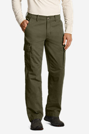 Green Pants for Men: Men's Legend Wash Cargo Pants - Classic Fit